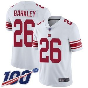 Mens Giants Saquon Barkley 100th Jerseys